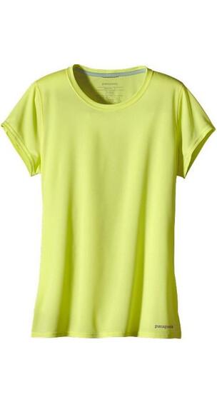 Patagonia W's S/S Fore Runner Shirt Mayan Yellow
